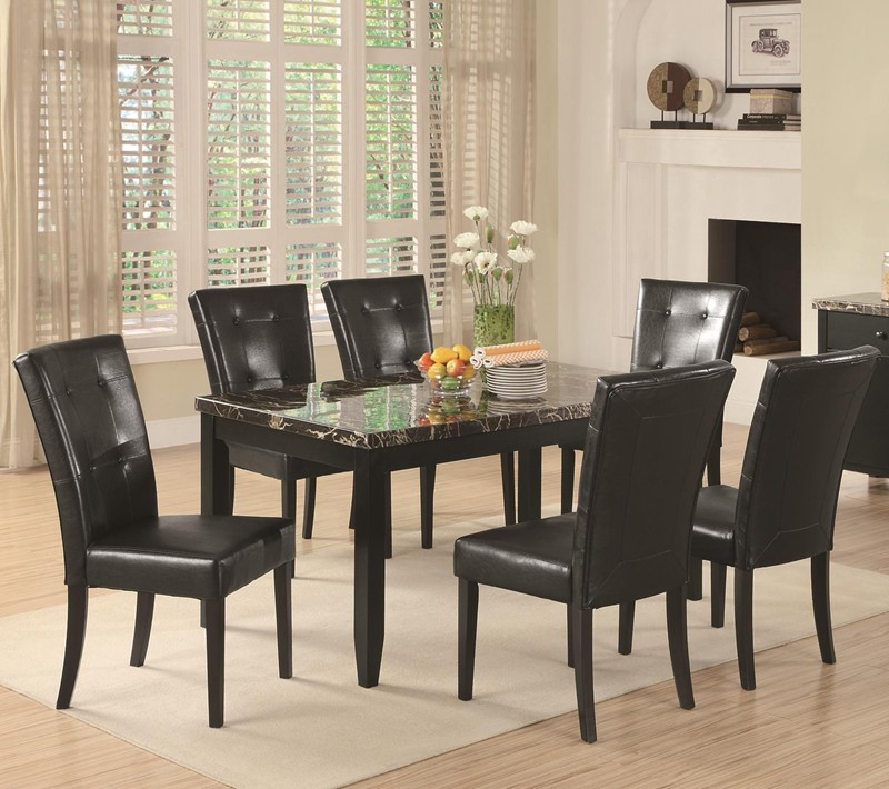 Anisa 7pc Dinette Set cs102791-7DSet