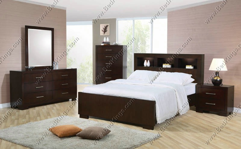Jessica Bedroom Collection - King Storage Bed cs200719KE