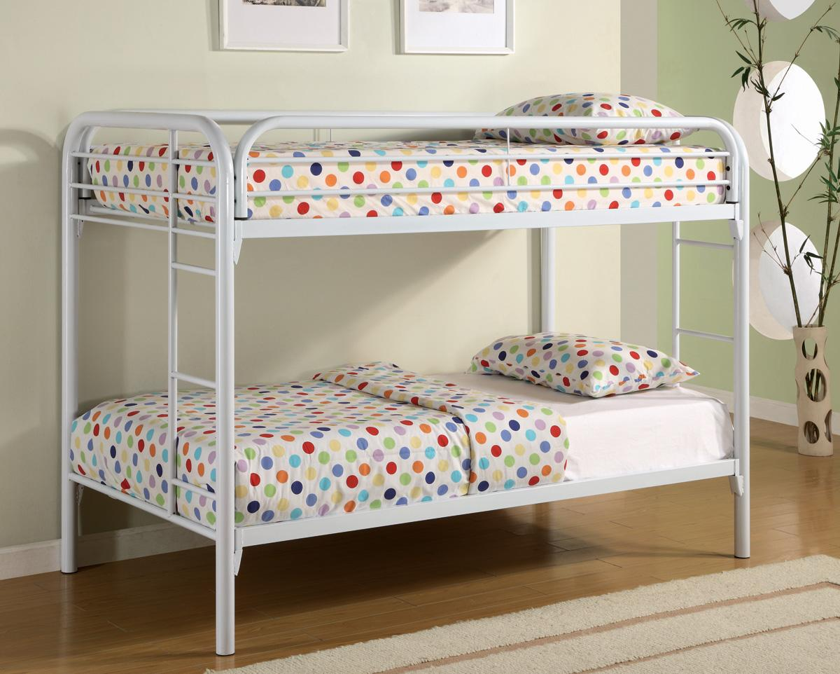 Everyday White Bunk Bed cs2256WBB