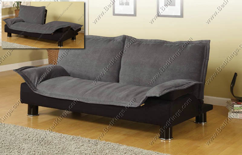 Grey Futon Sofa Bed - cs300177