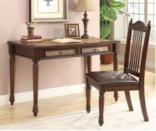 Old World Desk & Chair Set cs800079DKC