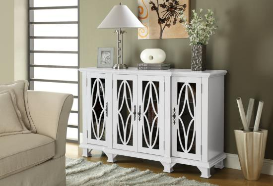 Freya White Accent Cabinet cs950265