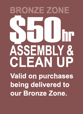 6. Bronze $50 Hr. Assembly & Clean-Up
