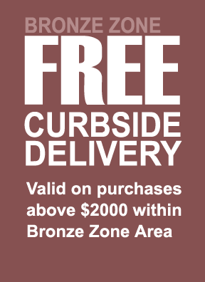 1. FREE Bronze Curbside Delivery