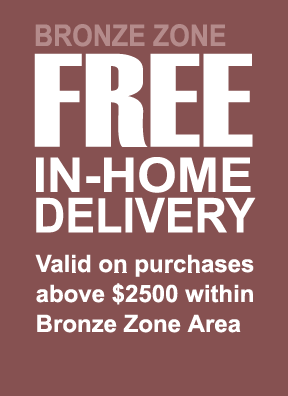 3. FREE Bronze In-Home Delivery