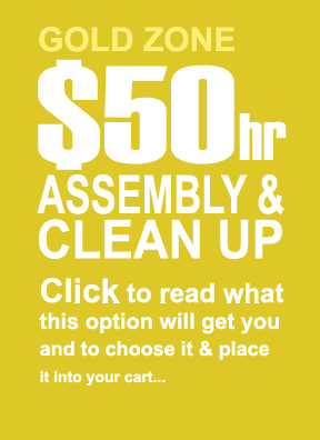 6. $50 Hr. Assembly & Clean-Up