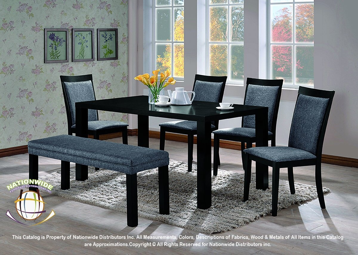 Aiden 6pc Dinette Set Na D519-6DSet