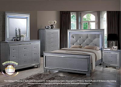 5pc Ella Queen Bedroom Set Na B118QBSet
