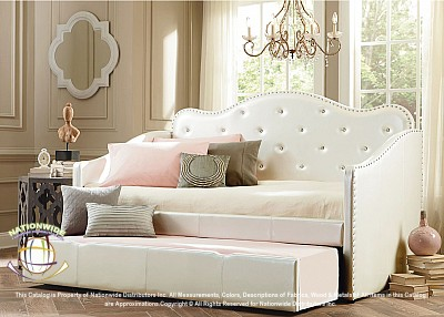 Angel Twin Daybed with Trundle Na B900DB