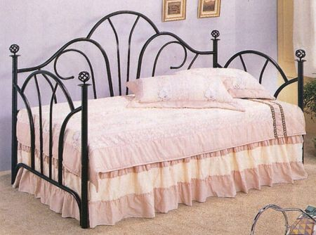 Filigree Black Daybed cs2613DB