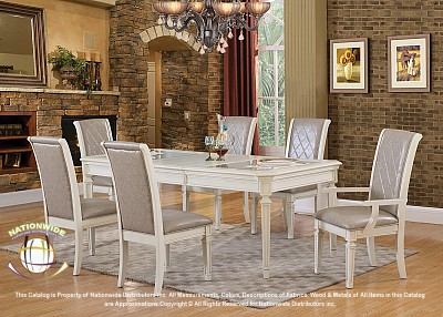 Bailey 7pc Dinette Set Na D102-7DSet