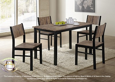 Salvatore 5pc Dinette Set Na D940-5DSet
