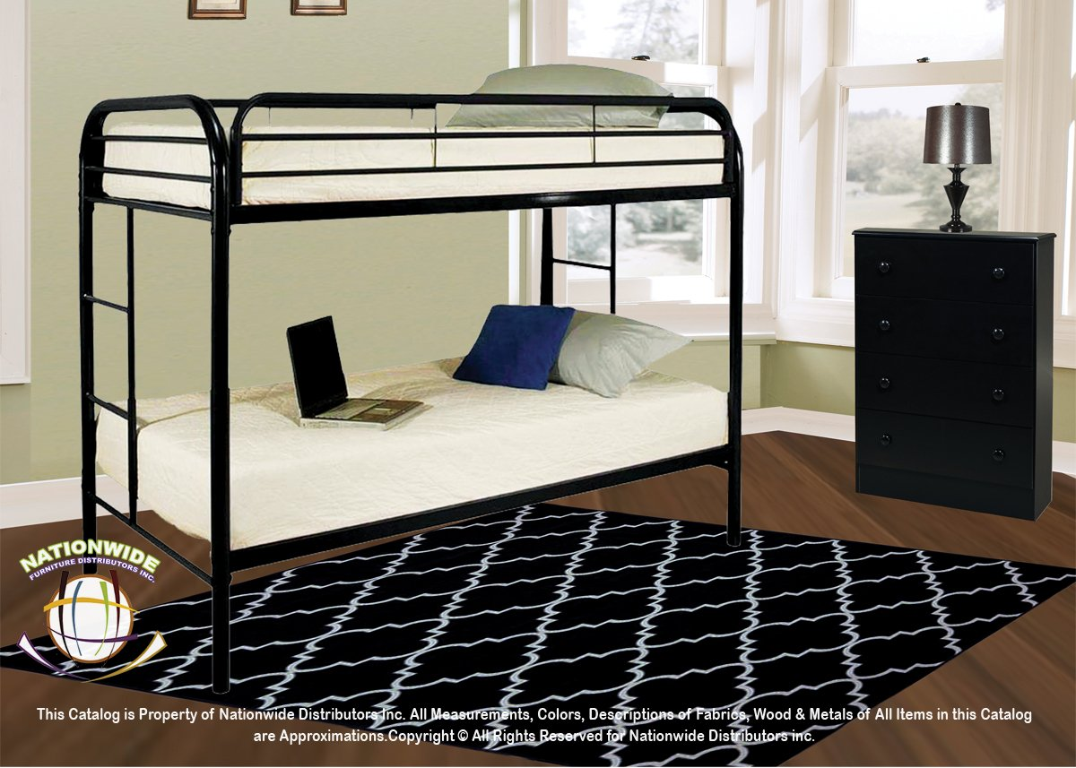3pc Twin Fort Bunk Bed Set