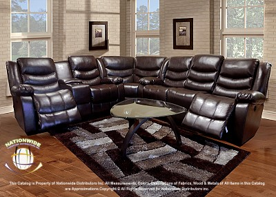 Duke 3pc Motion Sectional Sofa Na U13-3