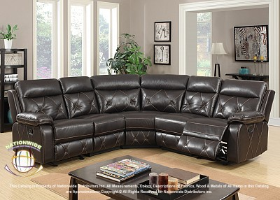 Event 3pc Motion Sectional Sofa Na U55-3
